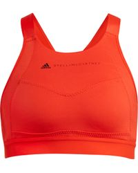 adidas By Stella McCartney - Performance Essentials Sports Bra - Lyst