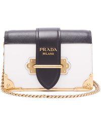 4dfdea98080a3f Prada Cahier - Women's Prada Cahier Bags - Lyst