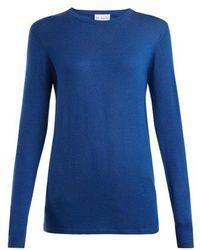 Raey - Long-line Fine-knit Cashmere Sweater - Lyst