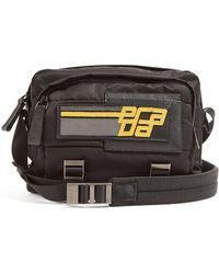 ff19074c093e Prada - Logo Patch Nylon Cross Body Bag - Lyst
