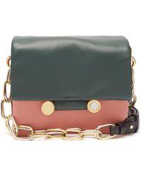 Marni - Cady Tri Colour Leather Shoulder Bag - Lyst