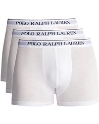 Polo Ralph Lauren - Pack Of Three Logo Embroidered Briefs - Lyst