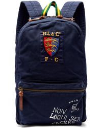 Polo Ralph Lauren - Crest And Logo-embroidered Backpack - Lyst