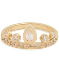 Jacquie Aiche - Diamond & Yellow-gold Ring - Lyst