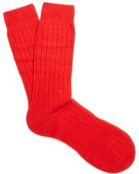Pantherella - Waddington Cashmere-blend Socks - Lyst