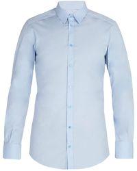 Dolce & Gabbana - Johnny Cotton-blend Poplin Shirt - Lyst