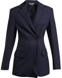 Jacquemus - Double Breasted Wool Blazer - Lyst