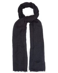 Title Of Work - - Solid Cashmere Scarf - Mens - Black - Lyst