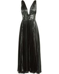 Maria Lucia Hohan - Sada Pleated Silk-blend Gown - Lyst