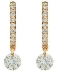 Raphaele Canot - Set Free Diamond & Rose-gold Earrings - Lyst