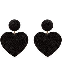 Rebecca de Ravenel - Cora Heart Costume Clip-on Earrings - Lyst