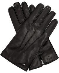 Valentino - Rockstud Leather Gloves - Lyst