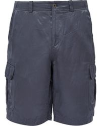 Sies Marjan - Elias Washed Satin Cargo Shorts - Lyst