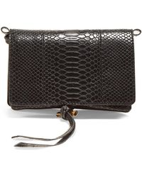 Stella McCartney - Alter Snakeskin-effect Faux-leather Bag - Lyst