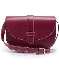 A.P.C. - Eloise Leather Saddle Bag - Lyst