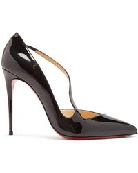 buy popular 1a5e8 c841a Christian Louboutin Jumping Asymmetric Red Sole Pump in ...