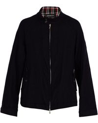 Undercover - Check Trimmed Wool Jacket - Lyst