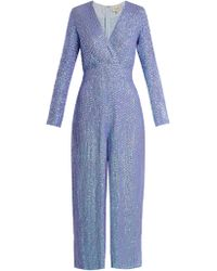 Temperley London | Tiara Sequin-embellished Jumpsuit | Lyst