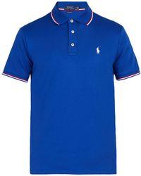Polo Ralph Lauren - Slim Fit Cotton Polo Shirt - Lyst