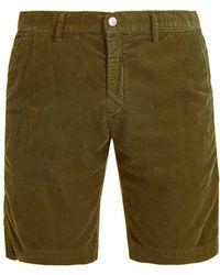 Massimo Alba | Straight-leg Cotton-corduroy Shorts | Lyst