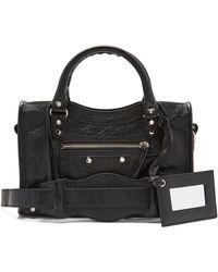 Balenciaga - Classic City Mini Leather Bag - Lyst