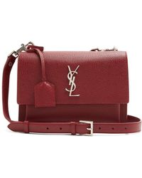 Saint Laurent - Sunset Medium Leather Cross-body Bag - Lyst