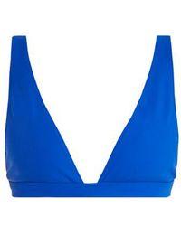 Rochelle Sara - The Enga V-neck Bikini Top - Lyst