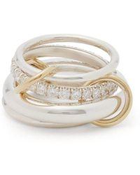 Spinelli Kilcollin - Luna Silver Ring Set - Lyst