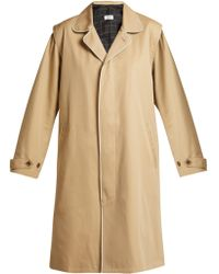Chimala - Single-breasted Cotton-twill Trench Coat - Lyst