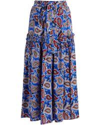 Dodo Bar Or - Paisley Print Skirt - Lyst