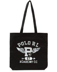 Polo Ralph Lauren - Logo-print Tote - Lyst
