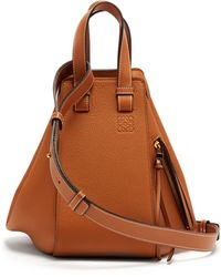 Loewe - Hammock Small Grained Leather Tote - Lyst