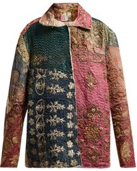 By Walid - Hope Panelled 19th Century Silk Jacket - Lyst