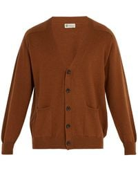 CONNOLLY - V-neck Cashmere Cardigan - Lyst