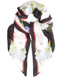 Givenchy - Lady-print Silk-twill Scarf - Lyst