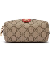 Gucci - Ophidia Gg Supreme Canvas Cosmetics Case - Lyst