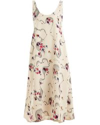 Rachel Comey - Balloon Fish-print Crepe Dress - Lyst