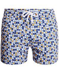 Frescobol Carioca - Cerejeira Print Swim Shorts - Lyst