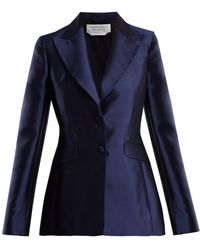 Gabriela Hearst | Serge Single-breasted Silk-blend Blazer | Lyst