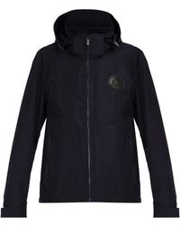 Burberry - Hooded Technical Jacket - Lyst
