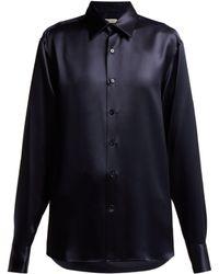 CONNOLLY - Silk Satin Shirt - Lyst