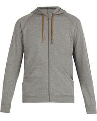 Paul Smith - Zip Through Hooded Sweatshirt - Lyst