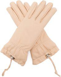 Jil Sander - Padded Leather Gloves - Lyst
