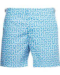 Orlebar Brown - Bulldog Frecce Print Swim Shorts - Lyst