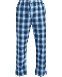 Derek Rose - Ranga Brushed Cotton Pyjama Trousers - Lyst