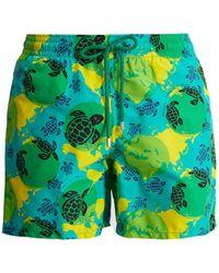 Vilebrequin - Turtle-print Swim Shorts - Lyst