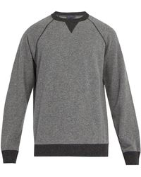 Thom Sweeney - Crew-neck Cashmere And Wool-blend Sweater - Lyst