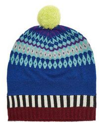 Burberry - Cashmere-blend Beanie Hat - Lyst