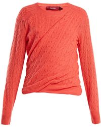 Sies Marjan - Libbie Cable-knit Cashmere Sweater - Lyst