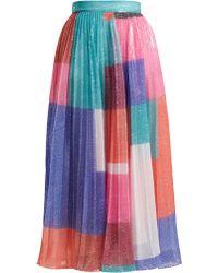 Mary Katrantzou - Ilona Skirt Colour Block - Lyst